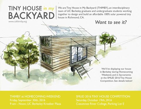 SMUD Is Hosting The Tiny House Competition A Home Building On October 15 2016 At Cosumnes River College In Sacramento