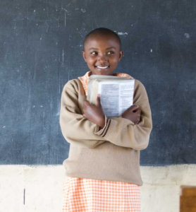Education lays a foundation for vibrant lives for girls and women, their families, and their communities. It also is one of the most powerful levers available for avoiding emissions by curbing population growth.